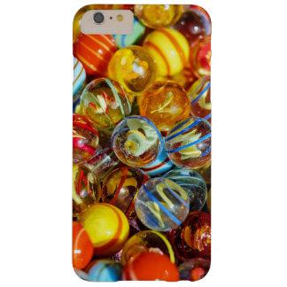 Capas iPhone 6 Plus Barely There fotografia de mármore de vidro colorida bonita das