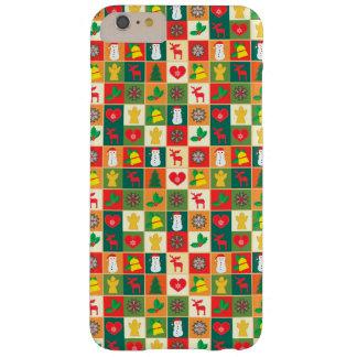 Capas iPhone 6 Plus Barely There Grande teste padrão do Natal