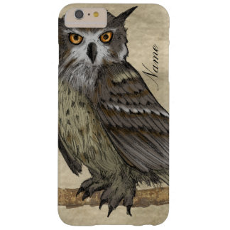 Capas iPhone 6 Plus Barely There Ilustração da coruja