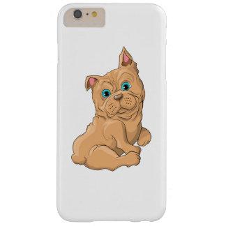 Capas iPhone 6 Plus Barely There Ilustração de um buldogue francês do cão bonito