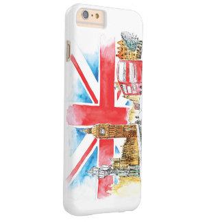 Capas iPhone 6 Plus Barely There iPhone 4 de Big Ben Londres, mal lá