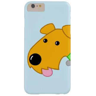 Capas iPhone 6 Plus Barely There iPhone 6/6s do cão de Airedale Terrier do close up