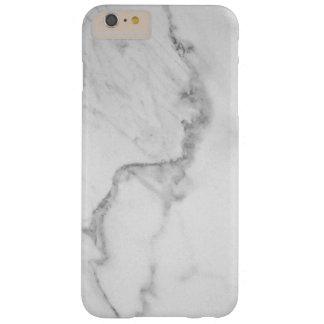 Capas iPhone 6 Plus Barely There iPhone de mármore 6/6s de Carrara mais o caso
