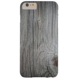 Capas iPhone 6 Plus Barely There iPhone Textured de madeira 6/6s do vintage mais o