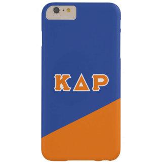 Capas iPhone 6 Plus Barely There Letras do grego do ró   do delta do Kappa
