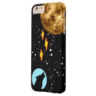 Capas iPhone 6 Plus Barely There Lobo poderoso da lua