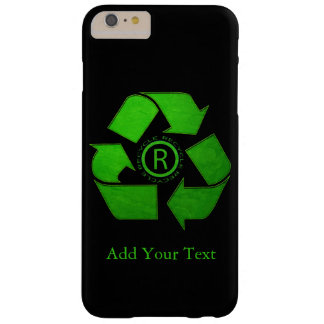 Capas iPhone 6 Plus Barely There Logotipo do reciclar por Shirley Taylor