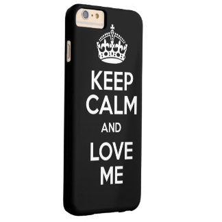 Capas iPhone 6 Plus Barely There love me