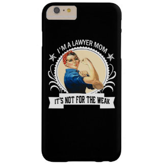 Capas iPhone 6 Plus Barely There Mamã do advogado - não para o fraco
