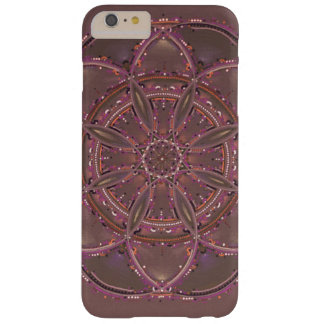 Capas iPhone 6 Plus Barely There mandala roxa