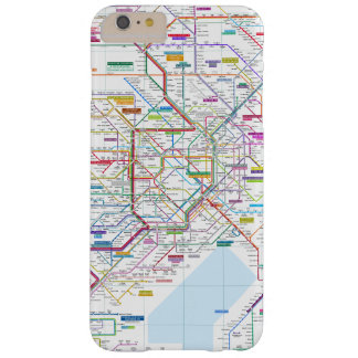 Capas iPhone 6 Plus Barely There Mapa de Tokyo