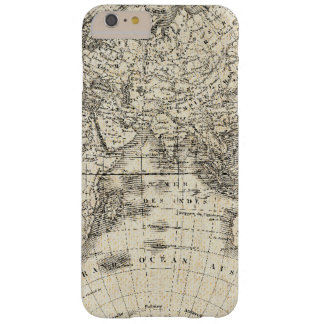 Capas iPhone 6 Plus Barely There Mapa do vintage de Europa e de Ásia
