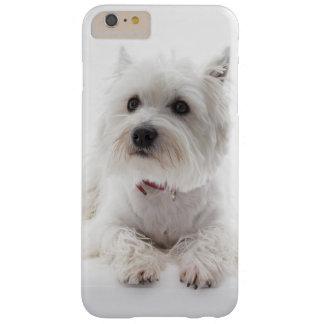 Capas iPhone 6 Plus Barely There Montanhas ocidentais brancas adoráveis Terrier