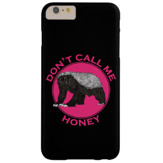 Capas iPhone 6 Plus Barely There Não me chame arte da feminista do rosa do texugo