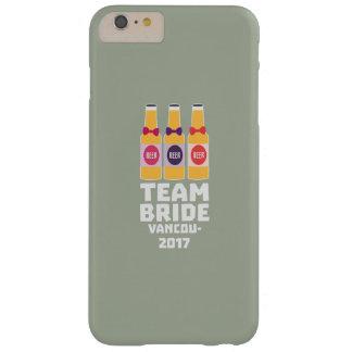 Capas iPhone 6 Plus Barely There Noiva Vancôver da equipe 2017 Z13n1
