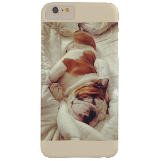 Capas iPhone 6 Plus Barely There O buldogue frances