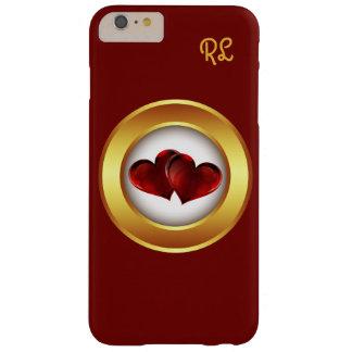 Capas iPhone 6 Plus Barely There o iphone 6 corações do amor do caso personalizou o