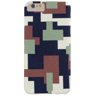 Capas iPhone 6 Plus Barely There O olhar das canvas dá forma ao cobrir do telefone