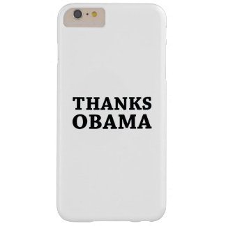 Capas iPhone 6 Plus Barely There Obrigados Obama