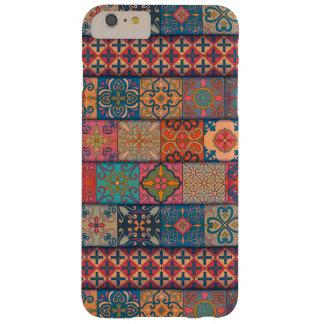Capas iPhone 6 Plus Barely There Ornamento de talavera do mosaico do vintage