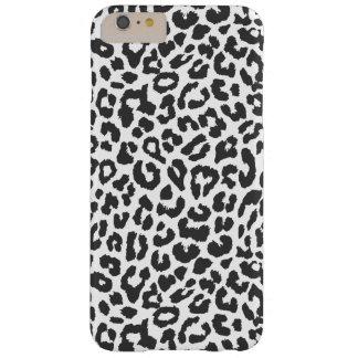 Capas iPhone 6 Plus Barely There Padrões pretos & brancos da pele animal do
