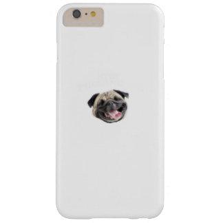 Capas iPhone 6 Plus Barely There Pare Pugging mim presentes engraçados do cão do