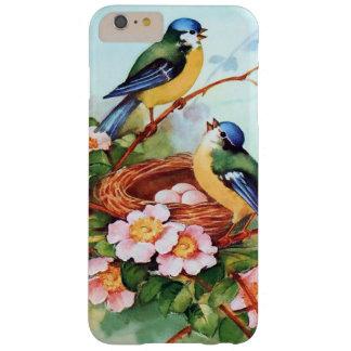 Capas iPhone 6 Plus Barely There Pássaros azuis bonitos na primavera