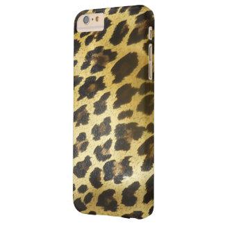 Capas iPhone 6 Plus Barely There Pele dourada do leopardo