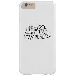 Capas iPhone 6 Plus Barely There Pense como um presente legal da ciência de Proton