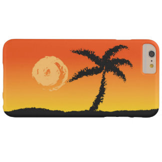 Capas iPhone 6 Plus Barely There Por do sol da ilha