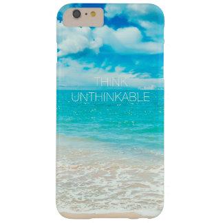 Capas iPhone 6 Plus Barely There Praia bonita do verão