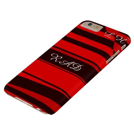 Capas iPhone 6 Plus Barely There Punk vermelho e preto do temerário de Emo