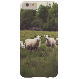 Capas iPhone 6 Plus Barely There Rochas macias brancas bonitos das árvores do campo