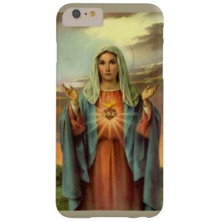 Capas iPhone 6 Plus Barely There Rosas imaculados da chama da Virgem Maria do