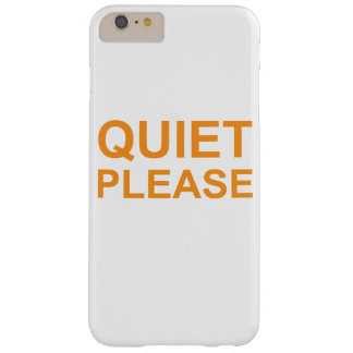 Capas iPhone 6 Plus Barely There silêncio por favor