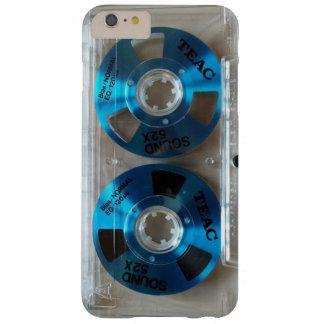 Capas iPhone 6 Plus Barely There Som 52 X da fita da cassete áudio de TEAC