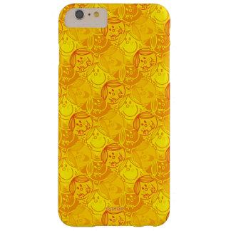 Capas iPhone 6 Plus Barely There Teste padrão amarelo ensolarado pequeno da