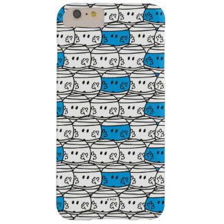 Capas iPhone 6 Plus Barely There Teste padrão azul do Sr. Colisão |