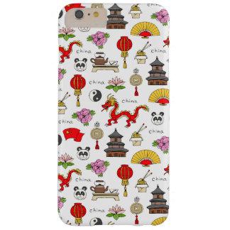 Capas iPhone 6 Plus Barely There Teste padrão dos símbolos de China