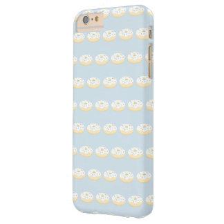Capas iPhone 6 Plus Barely There Teste padrão feminino da rosquinha da baunilha