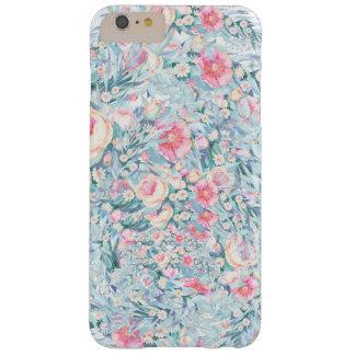Capas iPhone 6 Plus Barely There Teste padrão floral da pintura