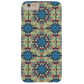 Capas iPhone 6 Plus Barely There Teste padrão floral étnico abstrato colorido de da