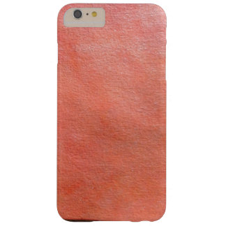 Capas iPhone 6 Plus Barely There textura alaranjada