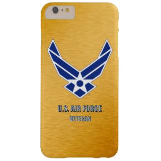 Capas iPhone 6 Plus Barely There U.S. iPhone do veterinário da força aérea/caso do