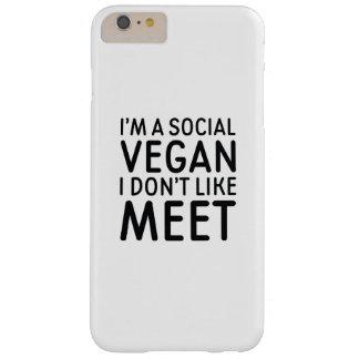 Capas iPhone 6 Plus Barely There Vegan social