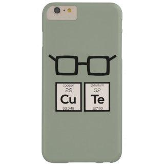 Capas iPhone 6 Plus Barely There Vidros bonitos Zwp34 do nerd do elemento químico
