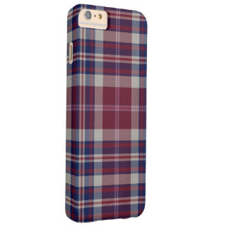 Capas iPhone 6 Plus Barely There Xadrez de Tartan do Loch da aproximação