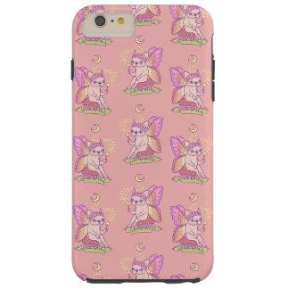 Capas iPhone 6 Plus Tough A fada bonito de Frenchie está moldando um período