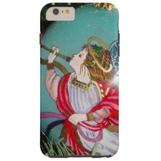 Capas iPhone 6 Plus Tough Anjo do Natal - arte do Natal - decorações do anjo