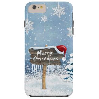 Capas iPhone 6 Plus Tough Arte do Natal - ilustrações do Natal